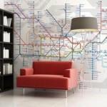 Ταπετσαρία-Χάρτης Μετρό