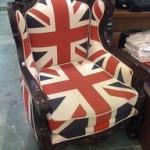 Πολυθρόνα με βρετανικό στυλ