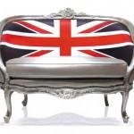 Καναπές με βρετανικό στυλ