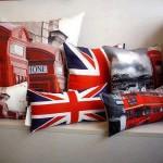 Μαξιλάρια με βρετανικό στυλ