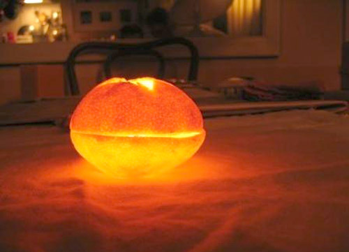 clementine-candle