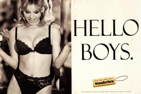 Η διαβόητη κατά πολλούς αλλά σίγουρα ιστορική διαφήμιση του Gossard bra της Wonderbra