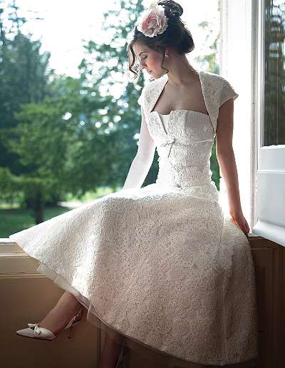 fifties-style-wedding-dress