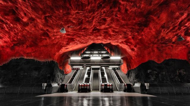 stockholm-metro-station