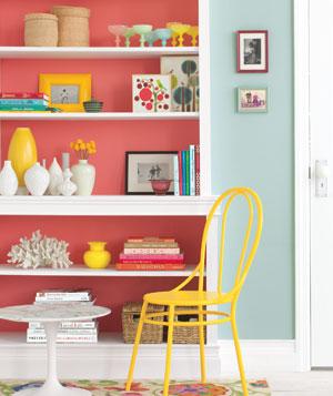bookshelves-solid-color