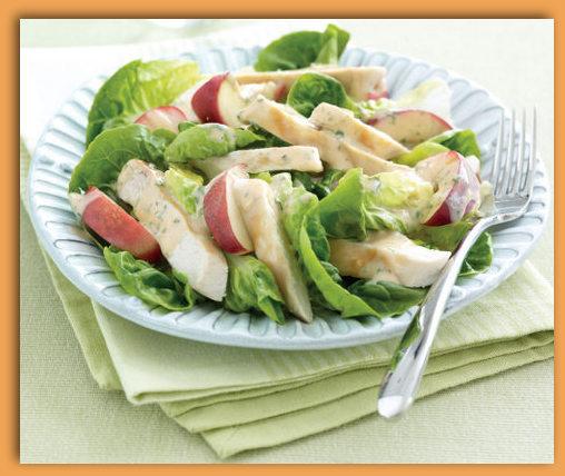 Chicken-Necturine-Salad