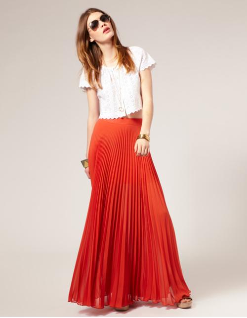 fba2237f9547 Πως να φορέσεις τη μάξι φούστα