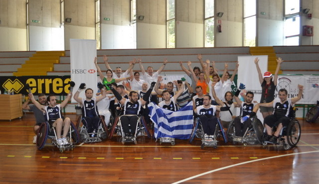 Greek National Wheelchair Rugby Team