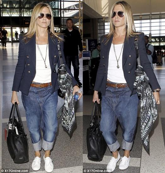 Αντιγράψτε το στυλ της ιέρειας του casual look, Τζένιφερ Άνιστον
