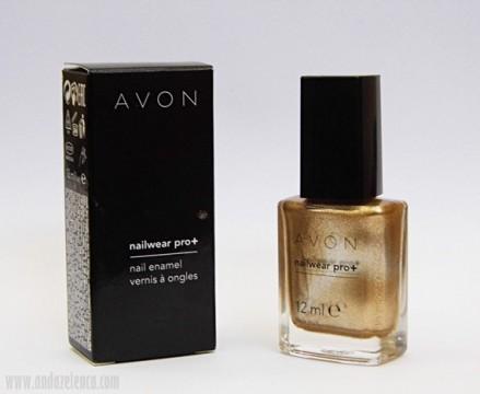 Avon Nailwear Pro+-Golden Vision (9,90 €)