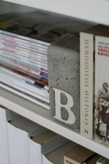 concrete-bookends