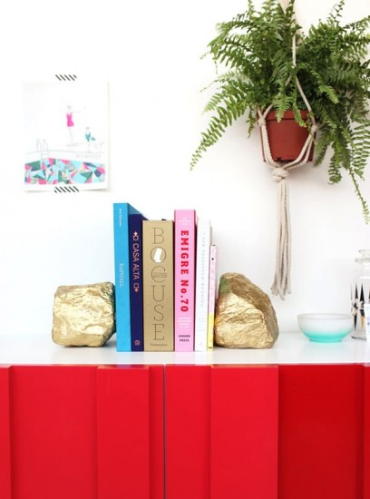 gold-bookends