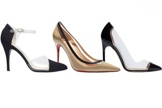Louboutin clear series