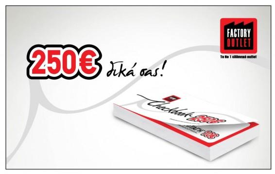 checkbook 250 € L
