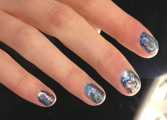 Rebecca Minkoff manicure trend-Fall 2013
