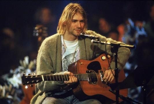 O Kurt Cobain στο ιστορικό Unplugged show