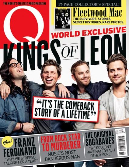 Η επιστροφή των Kings of Leon στο εξώφυλλο του περιοδικού Q327