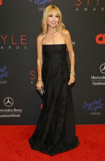 Η Rachel Zoe στο κόκκινο χαλί των Style Awards 2013