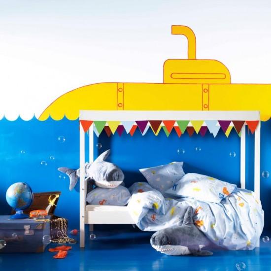 Κάθε παιδί θα μπορεί να ταξιδέψει σε έναν φανταστικό κόσμο τοποθετώντας ÖVRE σκελετό & ουρανό κρεβατιού!!! (167,00€ &10,00€ αντίστοιχα)
