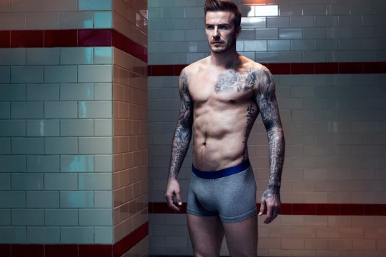 David Beckham Bodywear H&M Fall 2013
