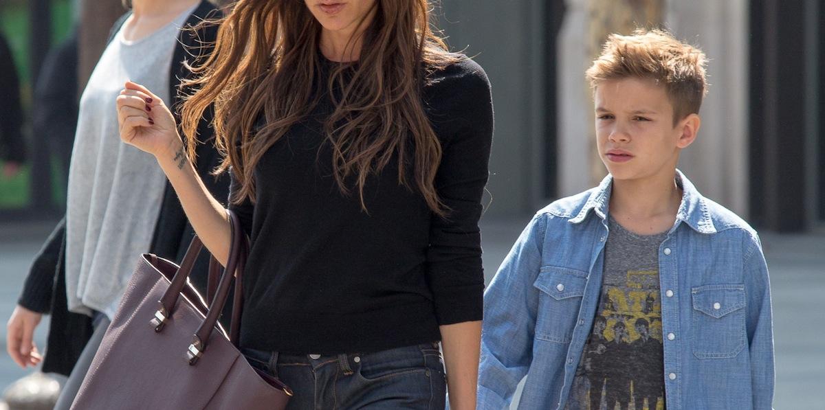 Victoria Beckham Sighting In Paris