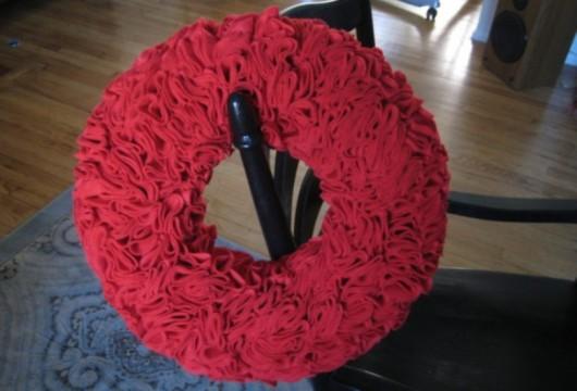 plication-wreath