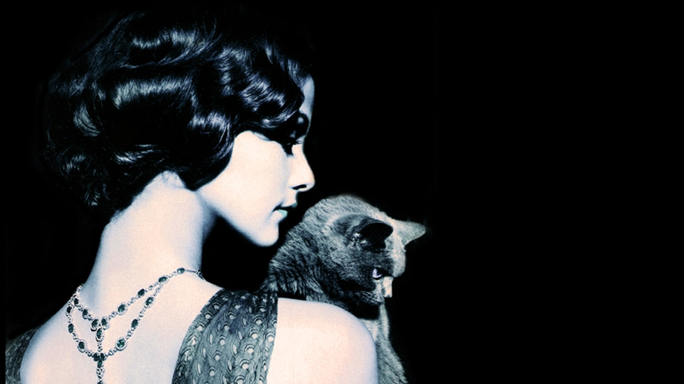 woman-and-cat