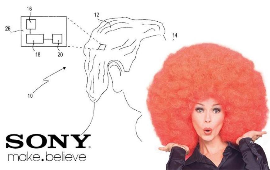 Sony smartwig
