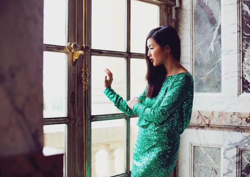 green_sequin_dress