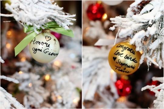 Χριστουγεννιάτικο δέντρο ευχών