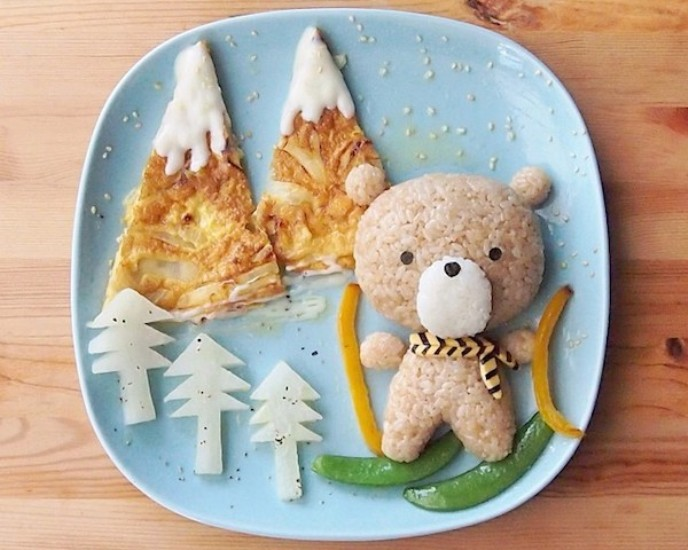food-art-bear