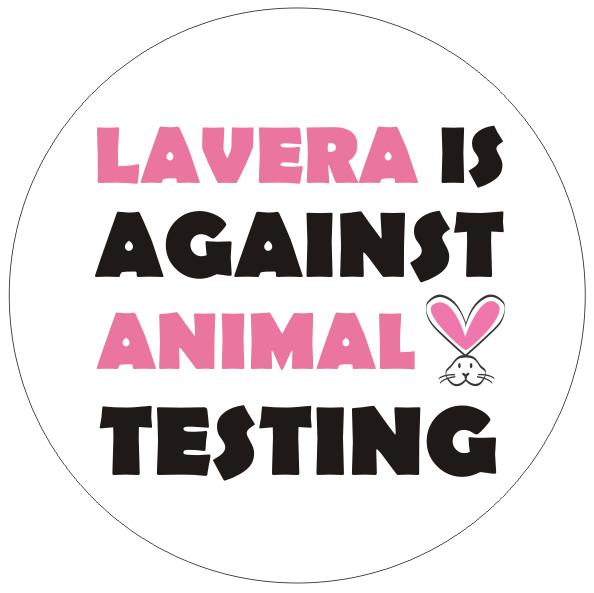 lavera against animal testing