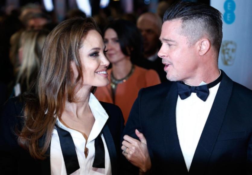 2014-BAFTA-Awards--Brad-Pitt-And-Angelina-Jolie-1