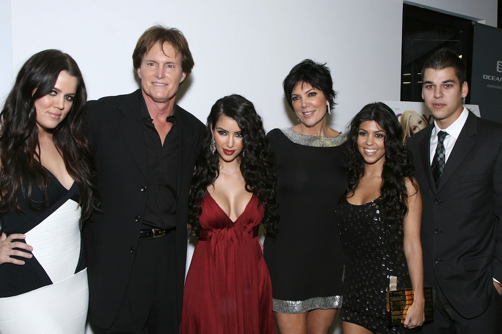 "Premiere Of ""Keeping Up With The Kardashians"""