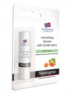 NEUTROGENA® Norwegian Formula®,   Stick Χειλιών Θρέψης με Nordic Berry