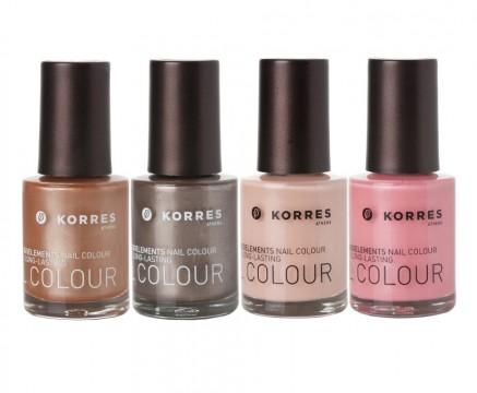 Metallic Nude Collection Korres Nail Colour
