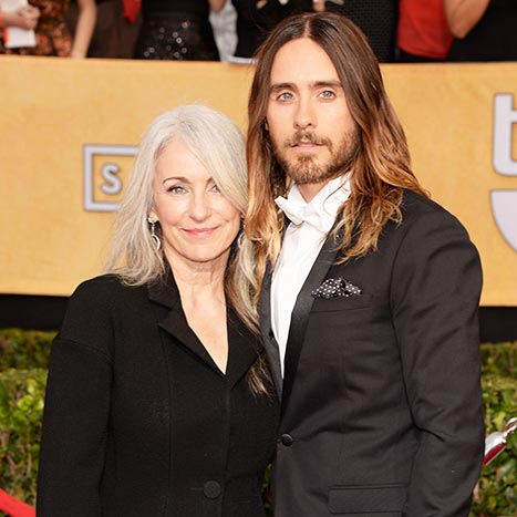Ο Jared Leto με τη μητέρα του Constance