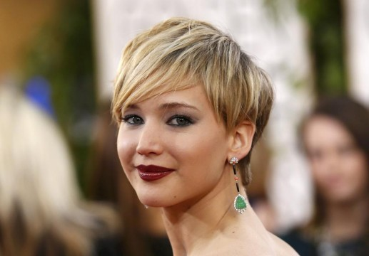Jennifer Lawrence με τέλειο pixie κούρεμα