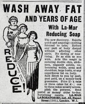 Fat Reducing Soaps!