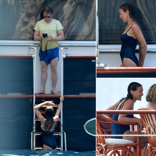 H Sarah Jessica Parker και ο Matthew Broderick στις διακοπές τους στην Ελλάδα