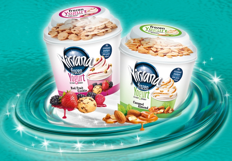 NIRVANA Frozen Yogurt