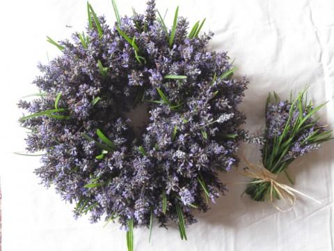 lavender-wreath