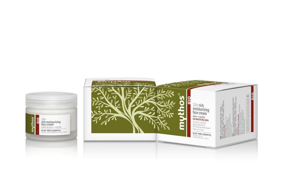 Mythos 24h rich moisturizing face Cream