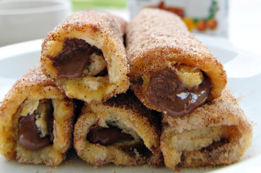 Nutella French Toast Rolls with Cinnamon Sugar 05