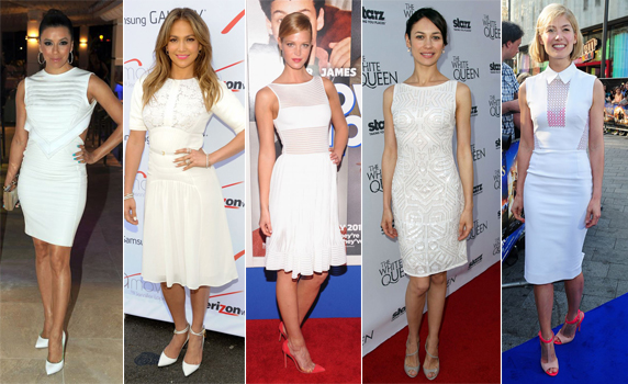 Celebrity White Dress | eBay