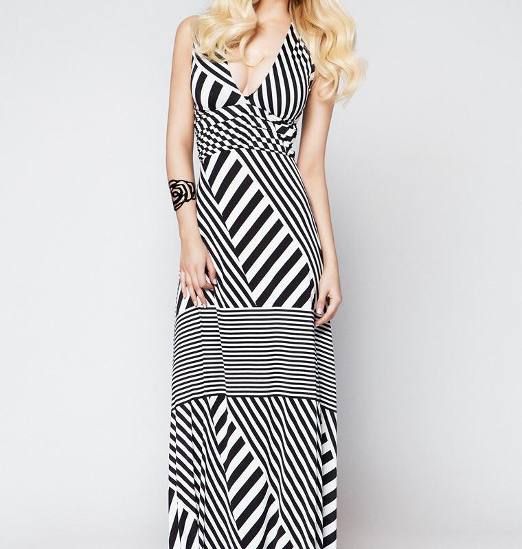 Ριγέ φορέματα  Τα ωραιότερα σχέδια για το trend της άνοιξης  f5ef893865c