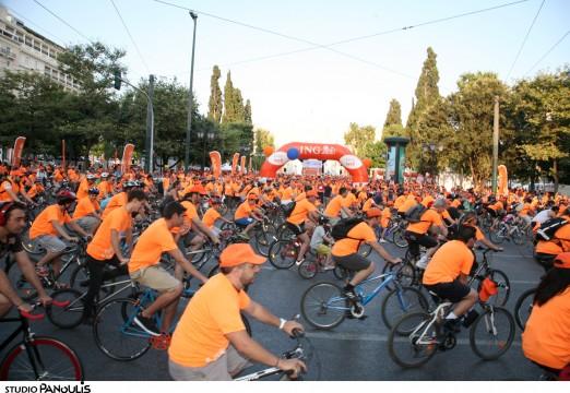 Μεγάλη ήταν η συμμετοχή των ποδηλατοδρόμων στο 2ο ING Live Well event
