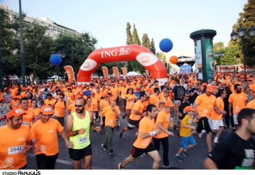 Χιλιάδες δρομείς έλαβαν μέρος στη μεγάλη γιορτή για την υγεία