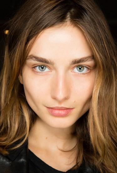 Balmain SS'14 makeup look