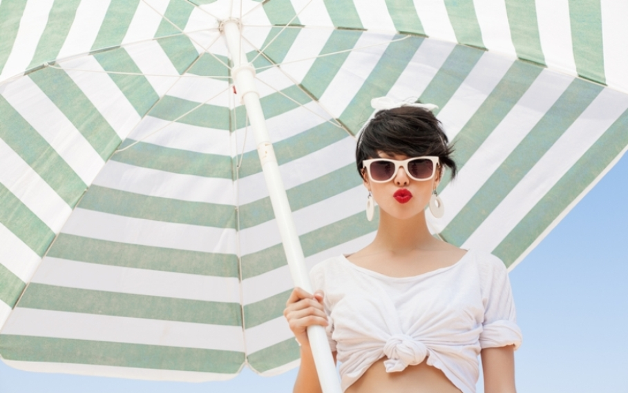 Ζέστη   υγρασία  Tips για να δείχνεις υπέροχη ενώ λιώνεις...  5e264617bda
